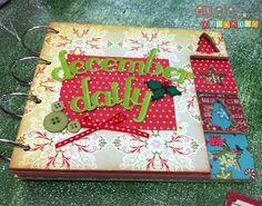 December Daily: álbum de natal - Eu (Lele), ele e as crianças