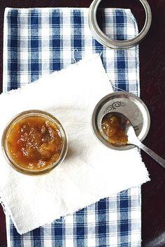 Caramel Cardamom Pear Jam   a canning recipe