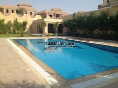 villa for sale in Bright City with pool and hudge garden. Real Estate Egypt, Cairo, New Cairo City/Katameya, Bright City, Four Season Villas for Sale, Divided into 5 BedroomsNo,5 Bathrooms  Flooring :Ceramics Marble Hard wood (Air Conditioning,Balcony + View,Central A/C,Garage,Garden,High ceilings,Jacuzzi,Master Bedroom,Private Entrance,Refrigerator,Roof,Servant Room,Special Garage,Stove,Suspended ceiling,Swimming Pool,Telephone,Televison,Terrace,TV Cable Or ...