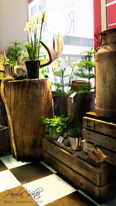 Forest inspired styling in flower shop Kukka ja hautauspalvelu Rosanna Kuopio Finland.  #style #styling #interior #interiordesign #shop #flower #flowershop #finland #kuopio #nordic #nordicstyle #forest #inspired #inspiration #designer #interiordesigner