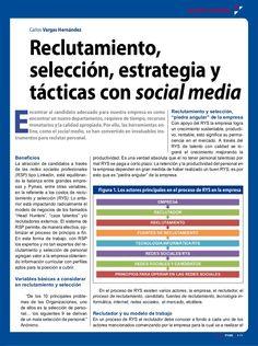 reclutamiento-seleccin-20-estrategia-y-tacticas-con-sm by Carlos Vargas H via Slideshare
