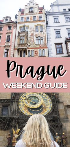 If you're planning a trip to Prague, read this guide with everything you need to know about visiting Prague over a few days. From the historic center, to the colorful baroque buildings, Gothic churches and the medieval Astronomical Clock, Prague is a must visit city! The Republic, Czech Republic, Weekend In Prague, Visit Prague, Prague Travel, Eastern Europe, Travel Guides, Baroque, Medieval