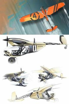 Aaron Rohlman saved to Spaceship Concept, Concept Ships, Concept Art, Kit Planes, Bush Plane, Colani, Airplane Design, Experimental Aircraft, Industrial Design Sketch