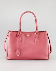 Prada - Saffiano Lux Tote Bag, Small
