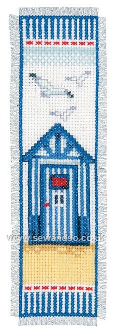 Shop online for Beach Shed Bookmark Cross Stitch Kit at sewandso.co.uk. Browse our great range of cross stitch and needlecraft products, in stock, with great prices and fast delivery.
