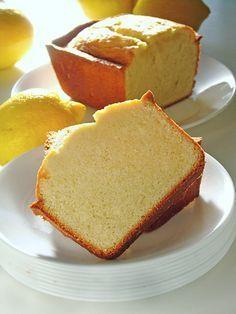 Southern Lemon Butter Pound Cake !
