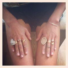organizing my rings