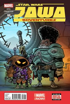 """""""Jawa Adventures"""" is a comic series that doesn't exist… yet! But if you'd like to see a series like this on the comic shop. Star Wars Cartoon, Star Wars Comics, Star Wars Humor, A Comics, Deadpool Funny, Star Wars Pictures, Star Wars Baby, Love Stars, Character Art"""