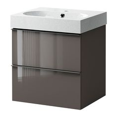 GODMORGON/BRÅVIKEN Sink cabinet with 2 drawers IKEA 10-year Limited Warranty. Read about the terms in the Limited Warranty brochure.