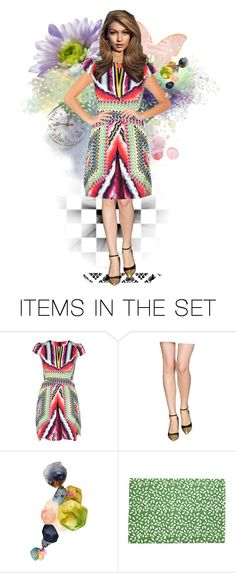 """Sallyanne"" by skpg ❤ liked on Polyvore featuring art"