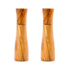 Set of 2 Olive Wood Salt and Pepper Mills or Salt and Pepper Grinders, Modern Style Salt And Pepper Mills, Salt And Pepper Grinders, Dishwasher Soap, Fabric Gift Bags, Handmade Kitchens, Wood Turning, Utensils, Decorative Items, Kitchen Decor
