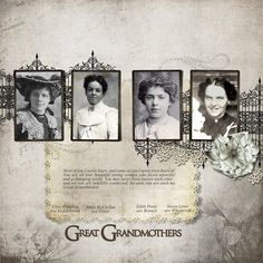 Great Grandmothers