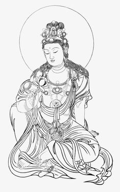 Buddhist or related material PNG and Clipart Kerala Mural Painting, Zen Painting, Buddha Drawing, Buddha Art, Chinese Drawings, Chinese Art, Buddha Tattoo Design, Tibet Art, Thangka Painting