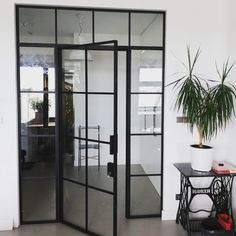 My Dream Home, Cosy, New Homes, Living Room, Inspiration, Furniture, Home Decor, Black Glass, Panel Room Divider