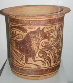 cerámica celtibérica - Región de Murcia.