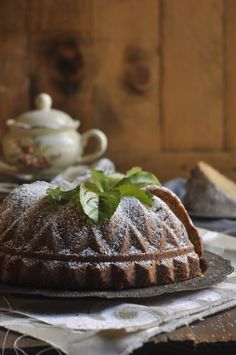 Rooibos Tea Yogurt Cake - A Proudly South African teatime treat. - My Easy Cooking Tea Recipes, Cake Recipes, Yogurt Cake, South African Recipes, Tea Cakes, Confectionery, Easy Cooking, Teas, Sweet Stuff
