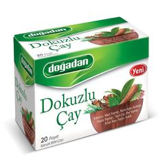 Dogadan 9 Herbs Tea, 3 Pack (Each 20 Tea Bags X 3)
