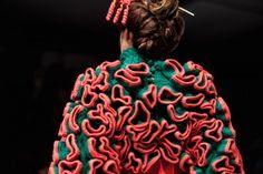 Jorge Salinas fashion from the fringe of the globe