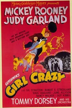 Girl Crazy (1943) - Illustrated by Al Hirschfeld