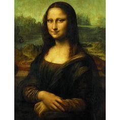 Portfolio Decor Mona Lisa Wrapped Wall Art