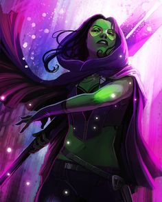 Gamora by Stephanie Hans