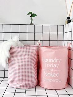 883c85f6bea4 Best Pink Floding Storage Basket 50% OFF+FREE SHIPPING Chill and Slay  Storage Baskets