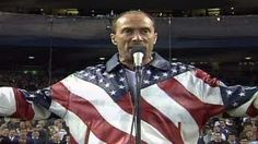 "2001 WS Gm4: Lee Greenwood sings ""God Bless the USA"" - YouTube"