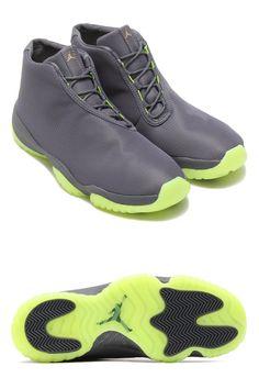 buy online 3e1f6 82901 Preview  Air Jordan Future (Dark Grey   Volt