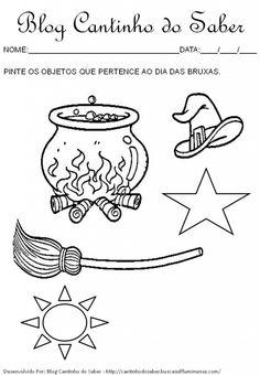 Dia das bruxas várias atividades para a Educação Infantil