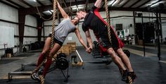 This Badass Crossfit Couple's Engagement Photos Are Seriously Impressive (www.ChefBrandy.com)