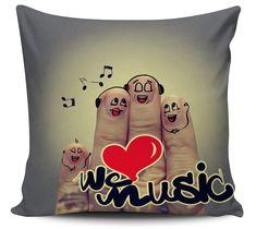 Almofada Love Music