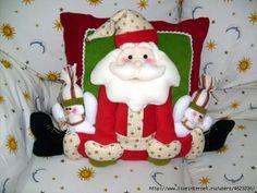 cojines hermosos para navidad