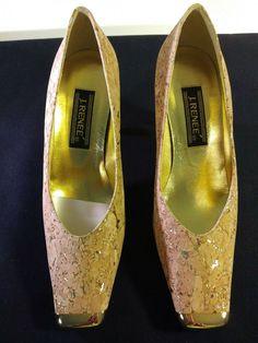 bc312d6f30 Natural/Gold Women's Cork Shoes Size 7.5 M #fashion #clothing #shoes #