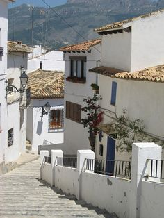 Altea, Spain  I have photos of this exact same scene!  Yaya