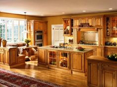 Kitchen Ideas Maple Cabinets best kitchen paint colors with maple cabinets: photo 21 - ginger
