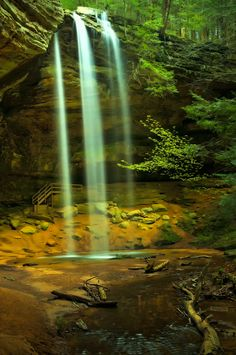 Hocking Hills State Park @Logan, Ohio. In my neck of the woods, love this place.