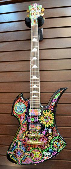 FERNANDES MG-145X Signature model Guitar
