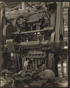 Ford Plant, River Rouge, Stamping Press