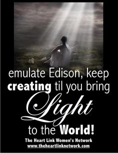 Bring Light to the world. help women succeed. http://www.theheartlinknetwork.com http://www.facebook.com/theheartlinknetwork