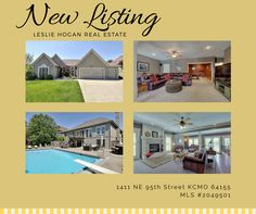 New Listing Brought To You By Leslie Hogan Real Estate And Better Homes U0026 Gardens  Kansas