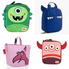 Adorable monster lunch boxes | cool mom picks back to school shopping guide