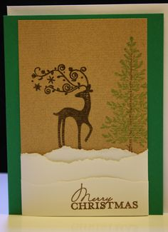 Dasher, lovely as a tree and sentiment from contempo christmas
