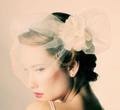 Loving the veil Vintage Veils, Vintage Bridal, Vintage Birdcage, Bridal Fascinator, Bridal Headpieces, Fascinators, Glamour Vintage, Vintage Style, Vintage Inspired