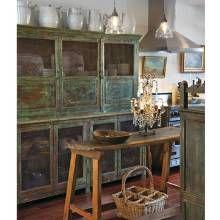 Mary Emmerlings Arizona Kitchen | via Phoenix Home & Garden