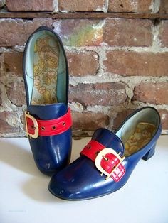 Funky London Mod shoes, New Old Stock from the Swinging 60s!