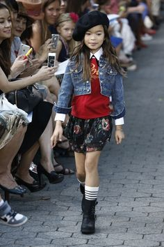 Runway Trend: Denim Jacket for Kid Girls