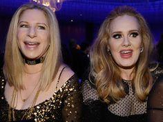 Barbra Streisand Adele Photos: 85th Annual Academy Awards - Governors Ball