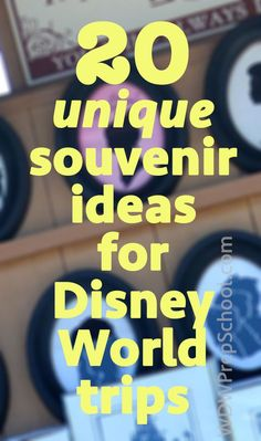 20 Disney World souvenir ideas (including tips on each)