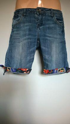 Przeróbka spodni na spodenki