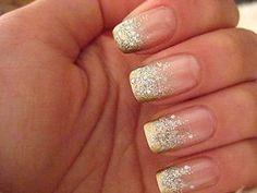 Unhas decoradas para o Réveillon - Ano Novo 2013 #nail